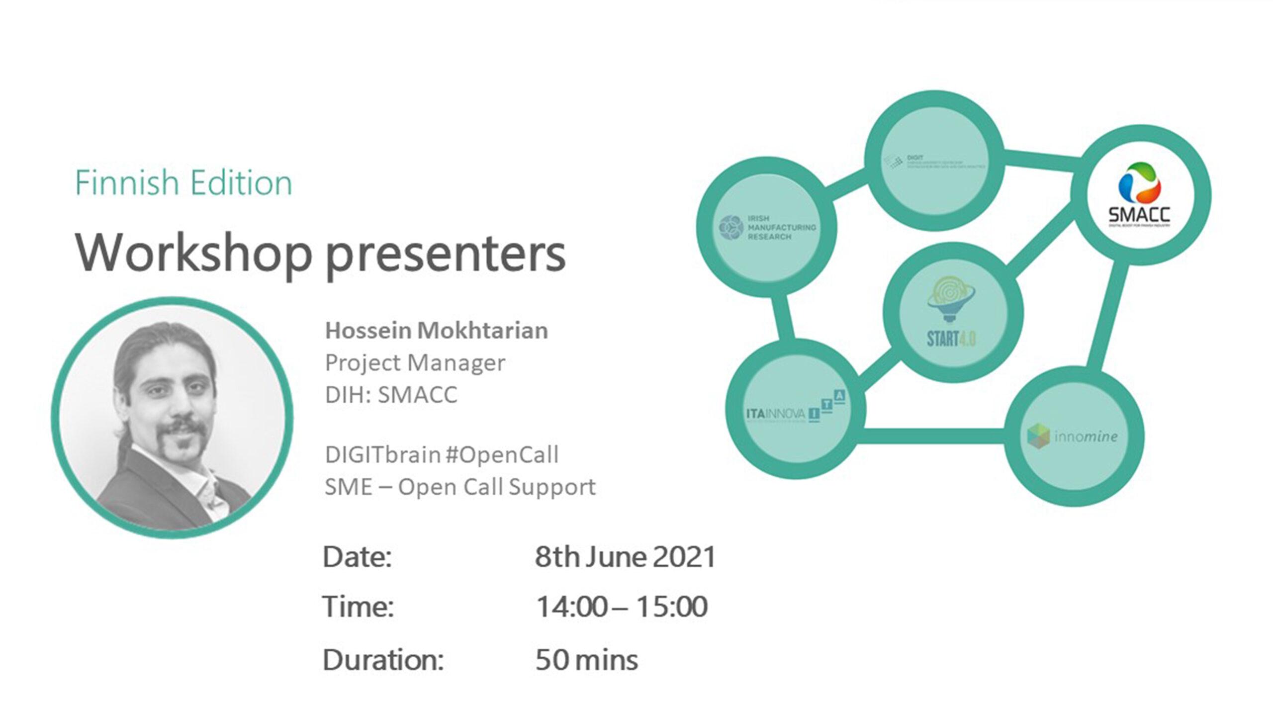 DIGITbrain_Local_Days_SMACC Workshop