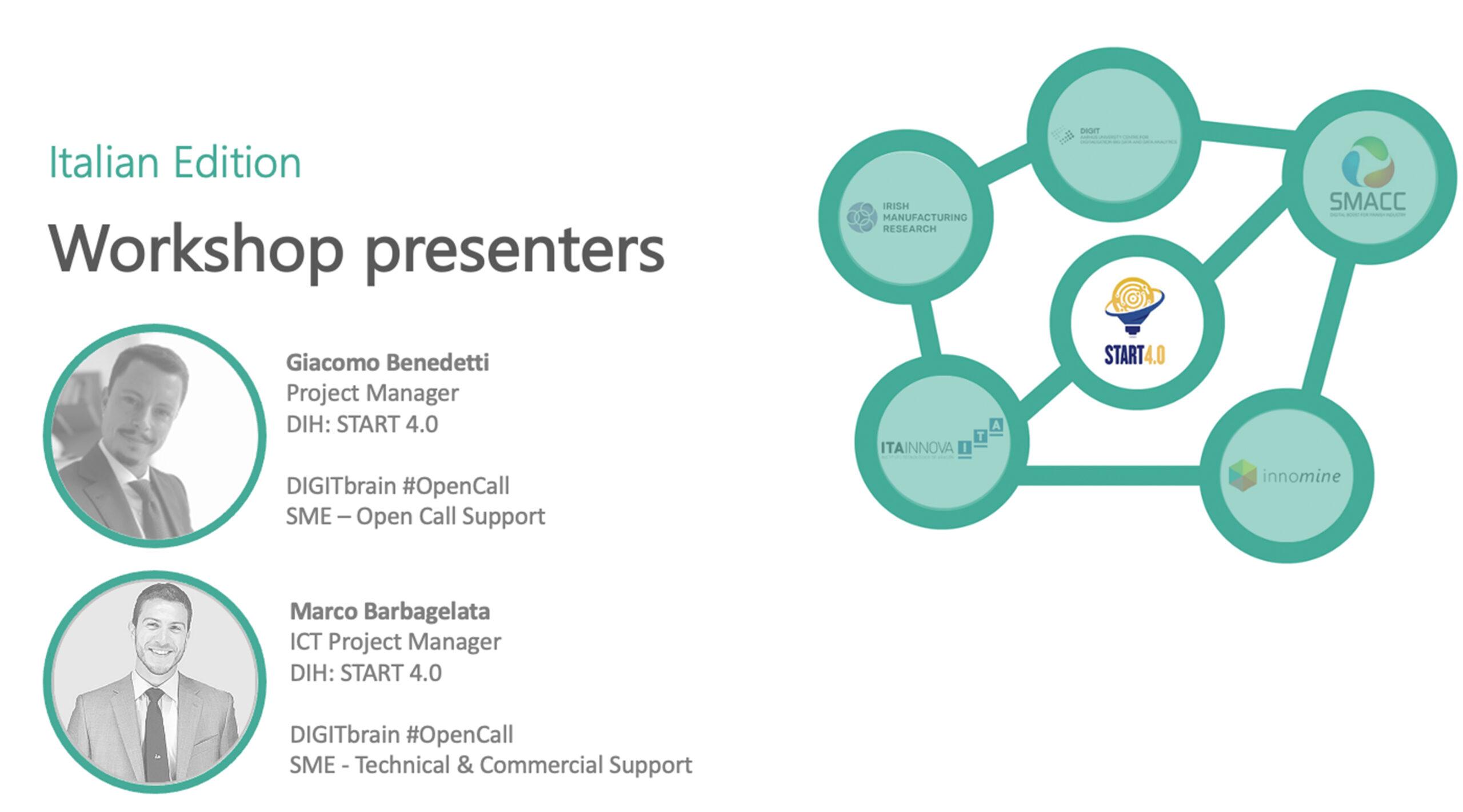 DIGITbrain_Local_Days_START4.0 Workshop