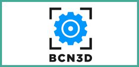 Barcelona 3D Logo